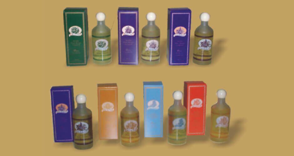 AROMASCENTS Aceites corporales